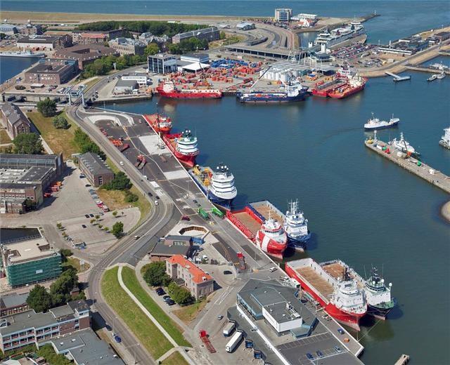 Meeste schepen die aanmeren bij Port of Den Helder zijn offshore-gerelateerd